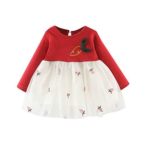 Halloween Onkel Kostüm Opa - Unbekannt Allence Kleinkind Baby Mädchen Kleid Langarm Prinzessin Party Pageant Kleider Kinder Kleidung
