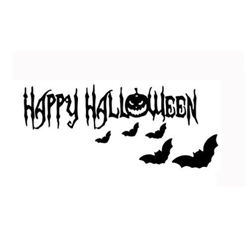 te Tattoo-Aufkleber,Happy Halloween Home Haushalt Zimmer Wandaufkleber Mural Decor Decal Removable Neu By JIANGFU (13) (Blutigen Auge Halloween Make-up)