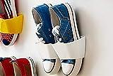 Zapatero creativo para colgar de pared y ahorrar espacio de Ungfu Mall., Blanco, 24.5cm x 7.7cm