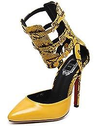 CHNHIRA Sandalias Zapato De Tacón Alto y Empella Envuelto para Mujer en Verano