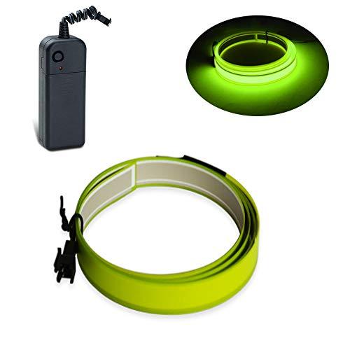 Lychee Netzgürtel mit 3 Füßen, Grün, 1 m Limone Verde -