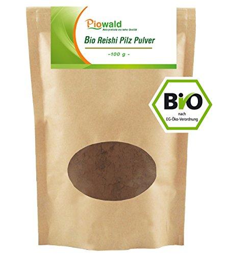 BIO Reishi Pilz Pulver - 100g (Pilz Pulver Bio)