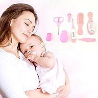 Gugutogo 8 Stück Neugeborenen Gesundheit Sicherheit Schere Medizin Feeder Grooming Kit Set (Farbe: Rosa) preisvergleich bei billige-tabletten.eu