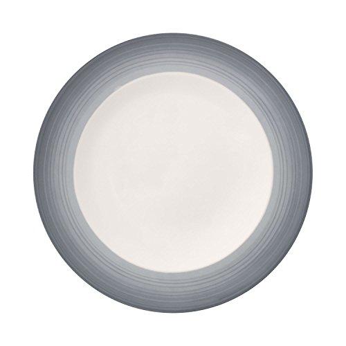 Villeroy & Boch Colourful Life Cosy Grey Plato llano, 27 cm, Porcelana...
