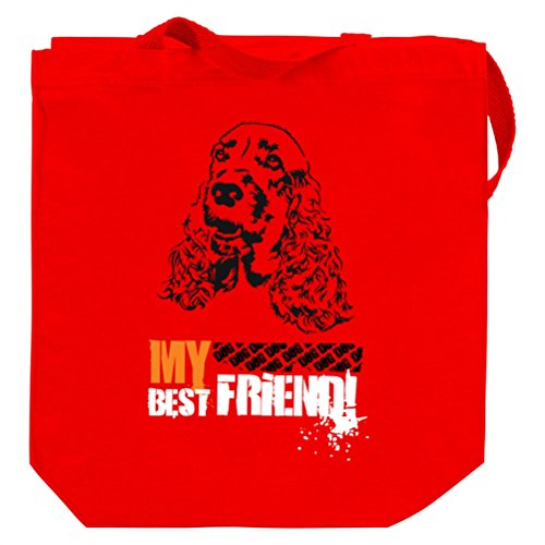 American Cocker Spaniel MY BEST FRIEND URBAN STYLE Tote Bag