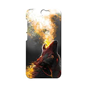 BLUEDIO Designer Printed Back case cover for HTC One A9 - G1167