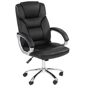 Miadomodo®  - Sedia da ufficio ricoperta in finta pelle
