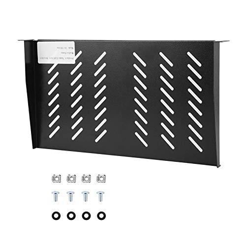Preisvergleich Produktbild RoadRoman 1U 19 Zoll Cantilever Fest Shelf 250mm Datennetzwerkschrank gelüftete-Rack