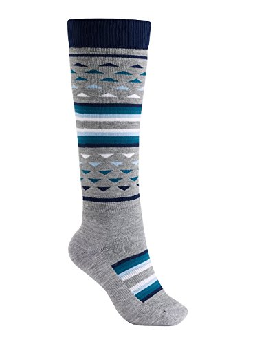 Burton Damen Shadow Snowboard Socken, Mood Indigo, S/M | 09009520747212