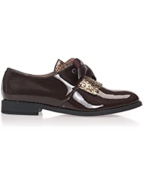 MARÍA BARCELÓ Scarpe In Pelle Oxford Donna Leather Shoes Derby Women