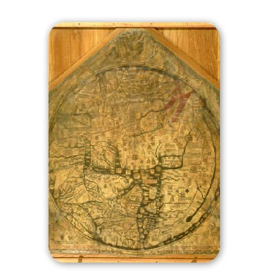 mappa-mundi-c1290-vellum-by-richard-of-mouse-mat-art247-highest-quality-natural-rubber-mouse-mats-mo