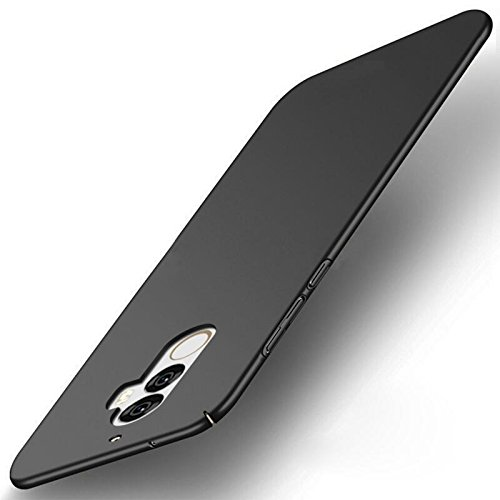 Lenovo K8 Plus Back Cover, Roxel 4 Cut All Sides Protection Sleek Ipaky Hard Case Back Cover for (Lenovo K8 Plus - 360° Protection Back Cover) - ?Black?