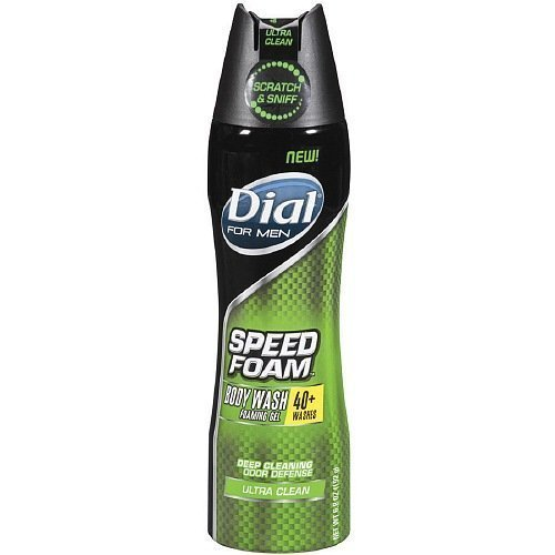 dial-for-men-speed-foam-body-wash-foaming-gel-ultra-clean-68-ounces-pack-of-6-by-dial