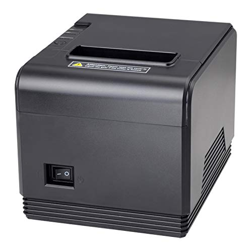 [Aggiorna 2.0] 300mm / sec Stampante termica diretta Speciale per la Cucina EU MUNBYN AUTO-CUT Stampante Portatile di Ricevimento Termico 80mm/ USB seriale/ESC/POS