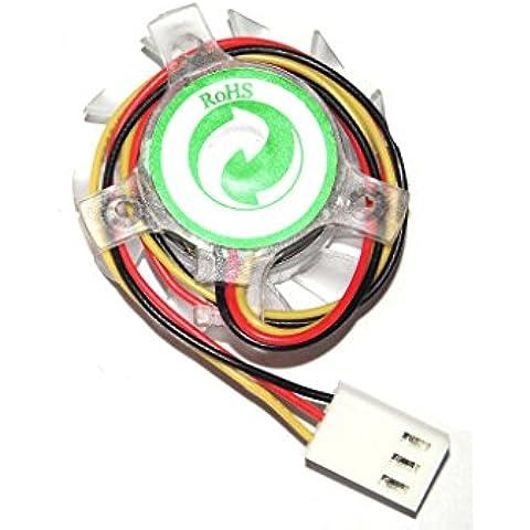12V 3Wire lama ventilatore per ASUS a8N-e a8N-sli Deluxe se A8N5X k8N4e North Bridge Chipset ventola Kit di riparazione