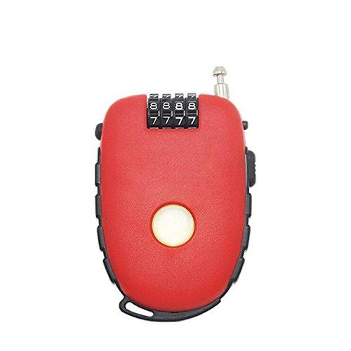 Le Vélo Portable Verrouiller Sacs à Main De Verrouillage De Câble Antivol Valises Mini-vol Portable