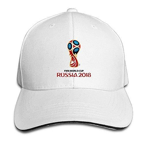 Jxrodekz 2018 Russian World Cup Blue Football Cap Unisex Low Profile Baseball Hat WF7240 (S Herren Russian Hat)