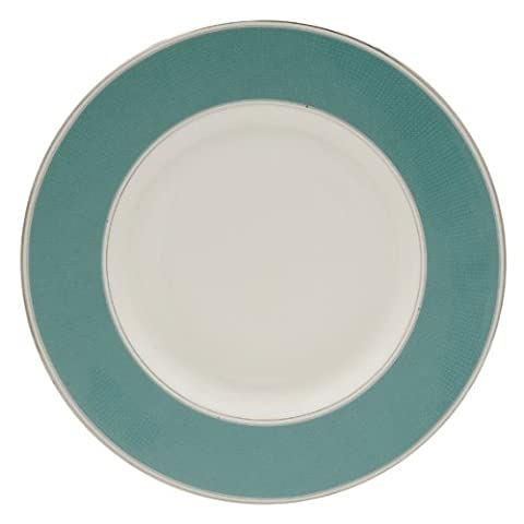 Monique Lhuillier for Royal Doulton Modern Love Textured Accent Plate, 9