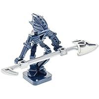2x Lego Bionicle Figur Visorak Keelerak schwarz weiss leuchtet im Dunkeln 51991b
