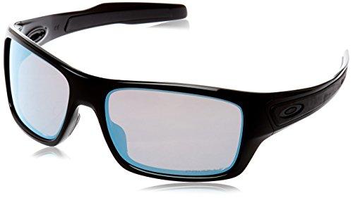 Oakley Herren Turbine 926314 Sonnenbrille, 65 , Schwarz (Polished Black)