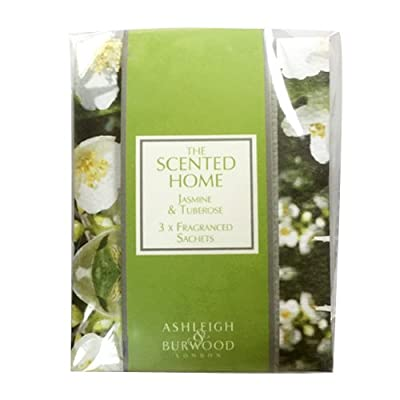 Pack of 3 Scented Sachets - Jasmine & Tuberose by Scented Candle Shop