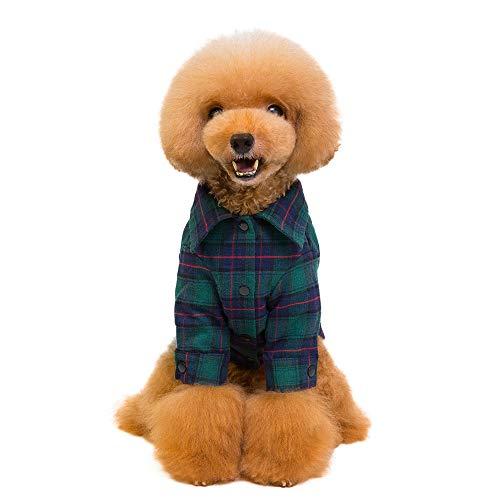 iertes Hemd für Katzen und Kleine Hunde, mit Polokragen, hochwertig, niedlich, schick, ideal für Halloween- und Weihnachtsoutfits ()