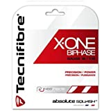 Tecnifibre X-One Biphase- 18G - Squash Strings- Made in France