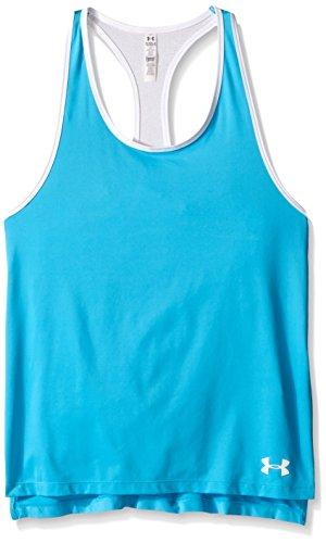Under Armour Mädchen Fitness Luna Tank, Meridian Blue, L, 1264544