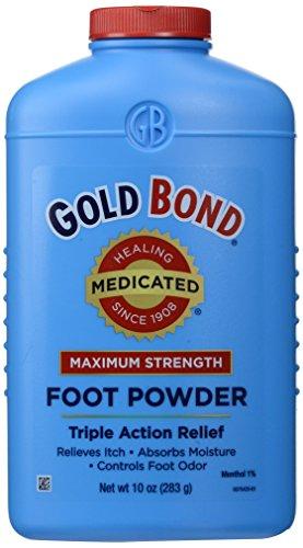 Gold - Médicamentés Poudre Pour Les Pieds - 12,5 Oz