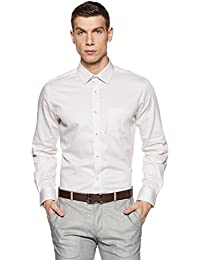 Park Avenue Men's Printed Regular Fit Formal Shirt
