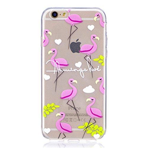 Hülle für Apple iPhone 6S Plus / 6 Plus , IJIA Transparente Krone (Queen) TPU Weich Silikon Stoßkasten Cover Handyhülle Schutzhülle Handytasche Schale Case Tasche für Apple iPhone 6S Plus / 6 Plus (5. LF7