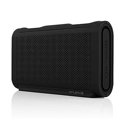 BRAVEN Balance HD Outdoor Bluetooth Lautsprecher [Wasserdicht nach IPX7 |