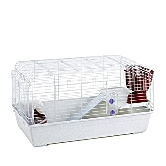 LITTLE FRIENDS Paris 100 Indoor Rabbit Cage with Accessories 100cm 7