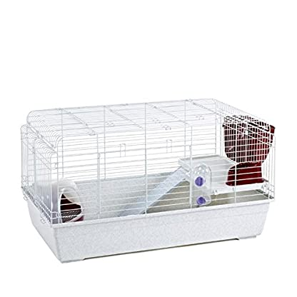LITTLE FRIENDS Paris 100 Indoor Rabbit Cage with Accessories 100cm 1