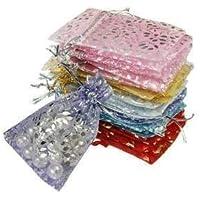 Arya Retails Organza Potli | Batva | Royal Clutch Batwa | Bridal Potli | Return Gift for Shagun, Dryfruit Bag, Party…