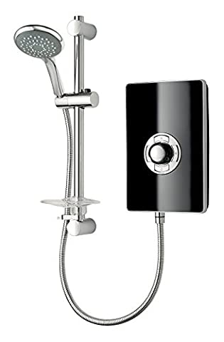 Triton Collection II 9.5kW Electric Shower - Black