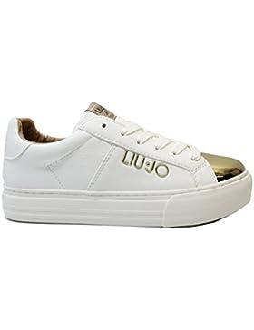 01f1ec2d85b641 Liu Jo Girl UM23266 Nero Sneakers Scarpe Donna Bambina Calzature Comode