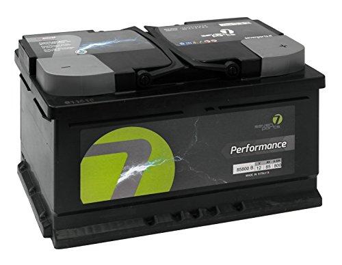 Seven Parts SV0872710B Batteria 12 V, 72 Ah, 710 A