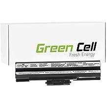Green Cell® Standard Serie Batería para Sony Vaio PCG-3C1M Ordenador (6 Celdas 4400mAh 11.1V Negro)