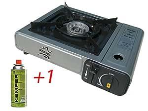 Fornello gas doppio attacco gpl butano cucina campeggio casa e cucina - Attacco gas cucina ...