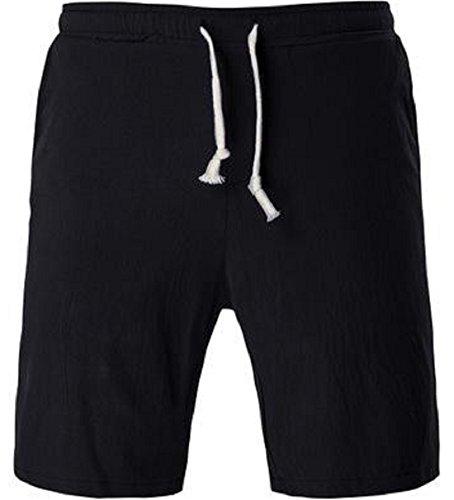 Men's High Quality Comfortable Beach Shorts Black