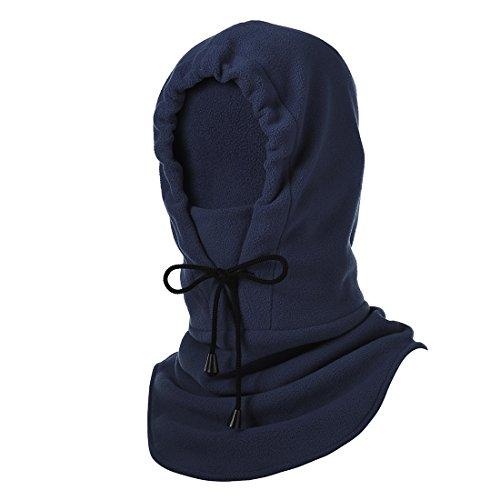 Hisea Caldo Passamontagna Intero per le tue Prossime Attività Invernali, Fleece Balaclava - antivento caldo militare tattico maschera intera