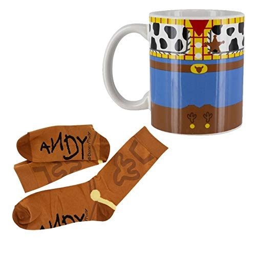 Disney Set de Regalo Toy Story Taza y Calcetines Woody 7