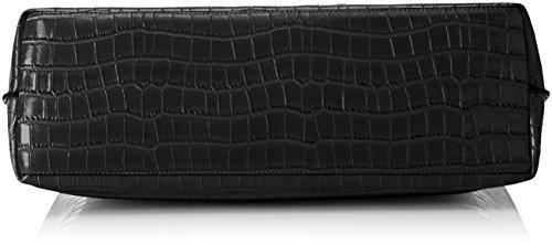 Versace Jeans Ee1vrbbo2_e70049, Borsa a Mano Donna, 13x31x38 cm (W x H x L) Nero