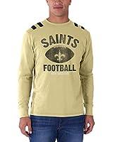 New Orleans Saints - Football Logo Bruiser Premium Long Sleeve