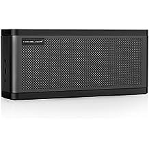 Homelody 25W Bluetooth Lautsprecher mit super Bass,Subwoofer,Basskontrolle Technik,3 Lautsprecher Drive,10 Stunden Spielzeit,mit AUX-Eingang und NFC für Samsung,iphone ,Tablets, TV, iPod (Schwarz)