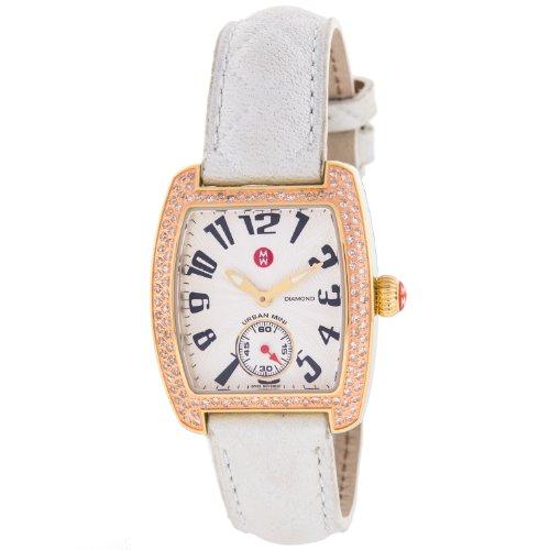Michele Urban Mini MW02A01G9001diamante suizo de cuarzo reloj de pulsera de mujer