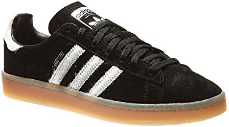 adidas Campus Schuhe black/silver  Billig und erschwinglich Im Verkauf