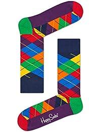 Happy Socks Argyle Chaussettes Hommes, Couleurs Du Spectre