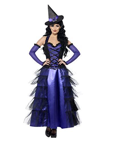 Glamour Hexe Kostüm - Horror-Shop Glamouröses Hexenkostüm M